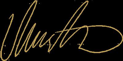 Unterschrift David