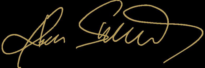 Unterschrift Stauds