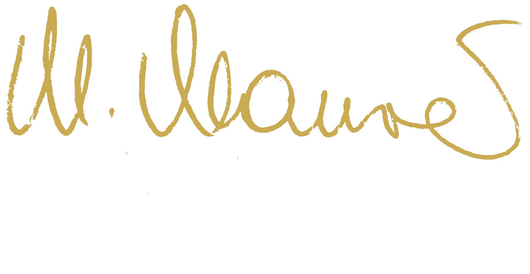 Marcella Unterschrift